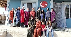 Şehit Arslan'ın ailesine ziyaret