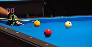 Alaca'da bilardo turnuvası