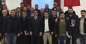 bKüçük Hırka Köyü Dernek Başkanı.../b