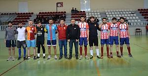 Yüksekokulda Futsal heyecanı
