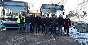 Alaca Belediyesi otobüsleri yeniledi