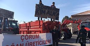 bAlaca#039;da çiftçiler isyan etti/b