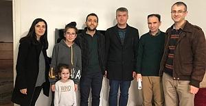 Öğrencileri evlerinde ziyaret ettiler