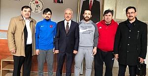 Zeki Gül, Milli Takım kampını ziyaret etti