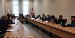 bAkademik Kurul Toplantısı yapıldı/b