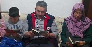 Kitap okuyanlara teşekkür etti