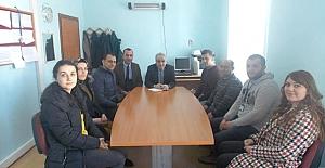 Okul ve kurumlar ziyaret edildi