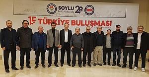 Türkiye Buluşmasına katıldı