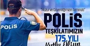 Polis Teşkilatı'nı kutladı