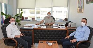 bİlk ziyaret Alaca Belediyesi#039;ne/b