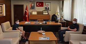 Genç Akif'ten Belediye Başkanı Şaltu'ya ziyaret