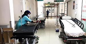 Alaca Devlet Hastanesi tedbirlerini artırdı