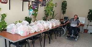 Gıda paketleri ihtiyaç sahiplerine ulaştırıldı