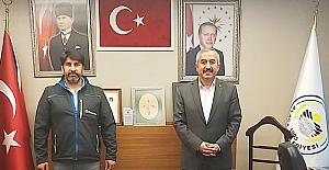 Mehmet Kaplan'dan Başkan Şaltu'ya ziyaret