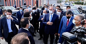Adalet Bakanı Abdulhamit Gül, Çorum'da