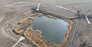 Çorum'un kuraklığı 3 bin yıllık Hitit Barajı'nı da etkiledi