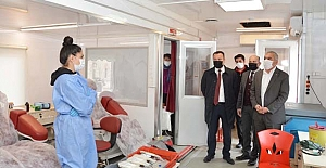 Kızılay'a 130 ünite kan bağışı