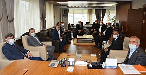 Vali Yardımcısı Yüksel'den Alaca Belediyesi'ne ziyaret