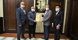 BİK Genel Müdürü Duran, Başkan Aşgın'ı ziyaret etti