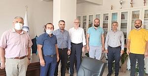 İlçe Müftüsü Kahveci'ye başarılar dilediler