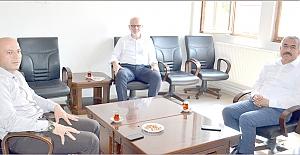 İlçe Müftüsü Kahveci'ye hayırlı olsun ziyareti