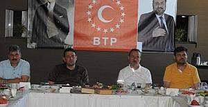 BTP Çorum İl Teşkilatı kahvaltıda bir araya geldi