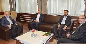 Başkan Şaltu'ya Mevlid-i Nebi Haftası ziyareti