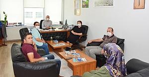 AB Proje ekibinden Fatih Arslan'a ziyaret