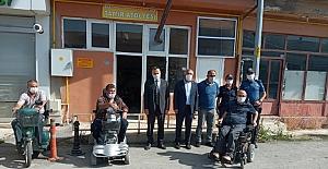 Atak ve Şaltu'dan Alaca Engelliler Derneği'ne ziyaret