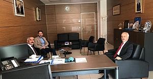 Başkan Şaltu'dan Gül'e ziyaret