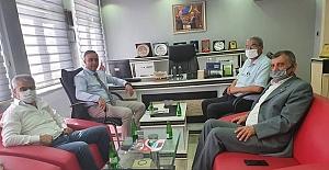 CHP'den Alaca TSO'ya ziyaret