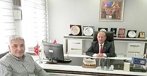 İş Bankası Müdürü Yücel'den Alaca TSO ziyareti