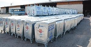 Yeni çöp konteynerleri kullanıma hazır!