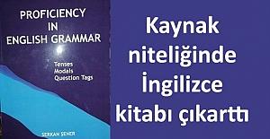 İngilizce Öğretmeni Serkan Şener, kitap çıkarttı