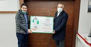 Karslı'dan Başkan Şaltu'ya ziyaret