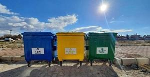 Alaca'da çöpler ayrıştırılacak