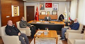 İHH Başkanı Özkabakçı'dan Başkan Şaltu'ya ziyaret