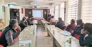 Alaca'da Kırsal Kalkınma yatırımları anlatıldı