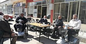 Başkan Şaltu'dan Alaca Engelliler Derneği'ne ziyaret