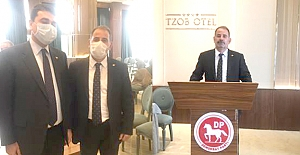 Çorum'dan DP Alaca İlçe Başkanı katıldı