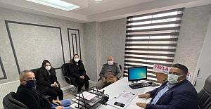 Hacı Odabaş'tan Milletvekili Kaya'ya ziyaret