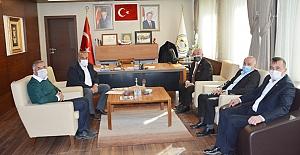 Meclis Başkanı Günay'dan Alaca Belediyesi'ne ziyaret