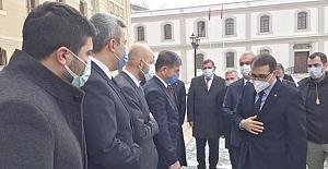 Toplantıya Kasım Kahraman da katıldı