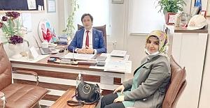 Türk PDR Derneği Alaca İlçe Başkanlığı'na Sibel Ak getirildi