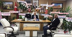 Başkan Şaltu'dan hayırlı olsun ziyareti