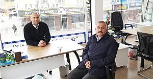 Başkan Şaltu'dan Yasin Biber'e hayırlı olsun ziyareti