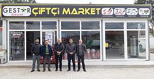 Çiftçi Market hizmete açıldı