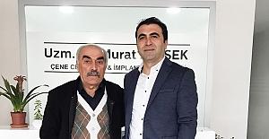 Uzman Diş Hekimi Murat Şimşek'e hayırlı olsun ziyareti