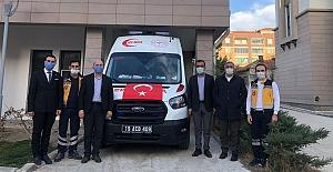 Yeni ambulans hizmete başladı