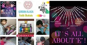 Alaca'dan E-Twining Projesi'ne katılım